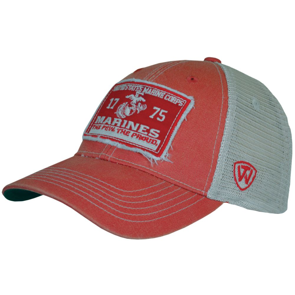 Marines Vintage Mesh Cover Hat  ffd6bc08bcb