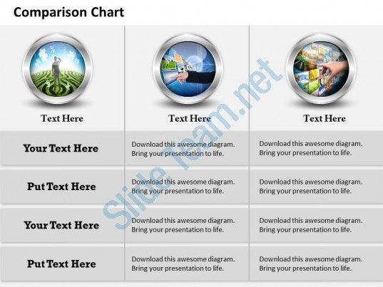 0314 comparison chart of business information Slide01
