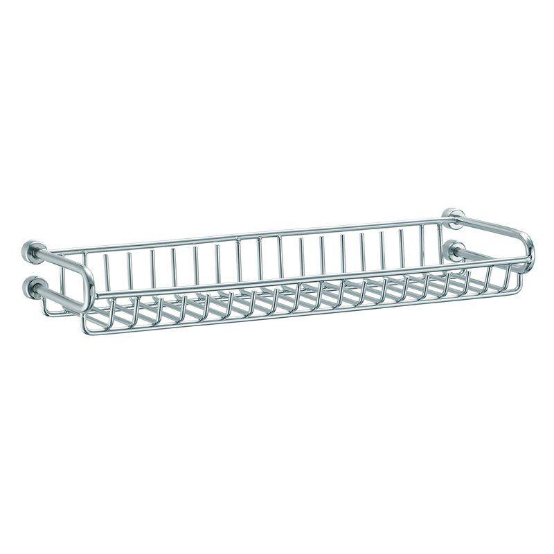 Tivoli Shower Caddy Large Wire Basket Shower Caddy Steel Bath