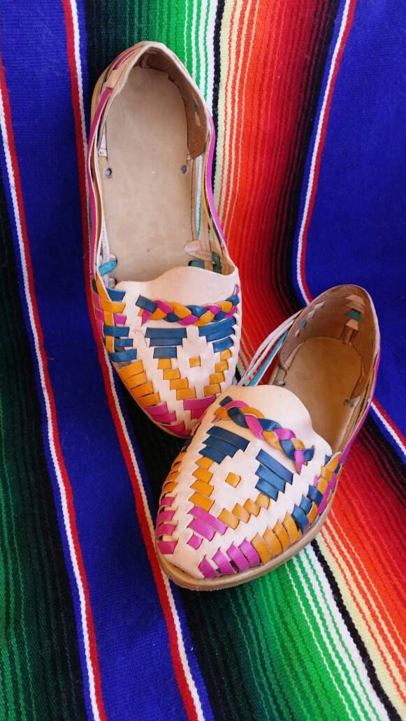 9a2f6a328e05 Traditional Women s Mexican Leather Huaraches