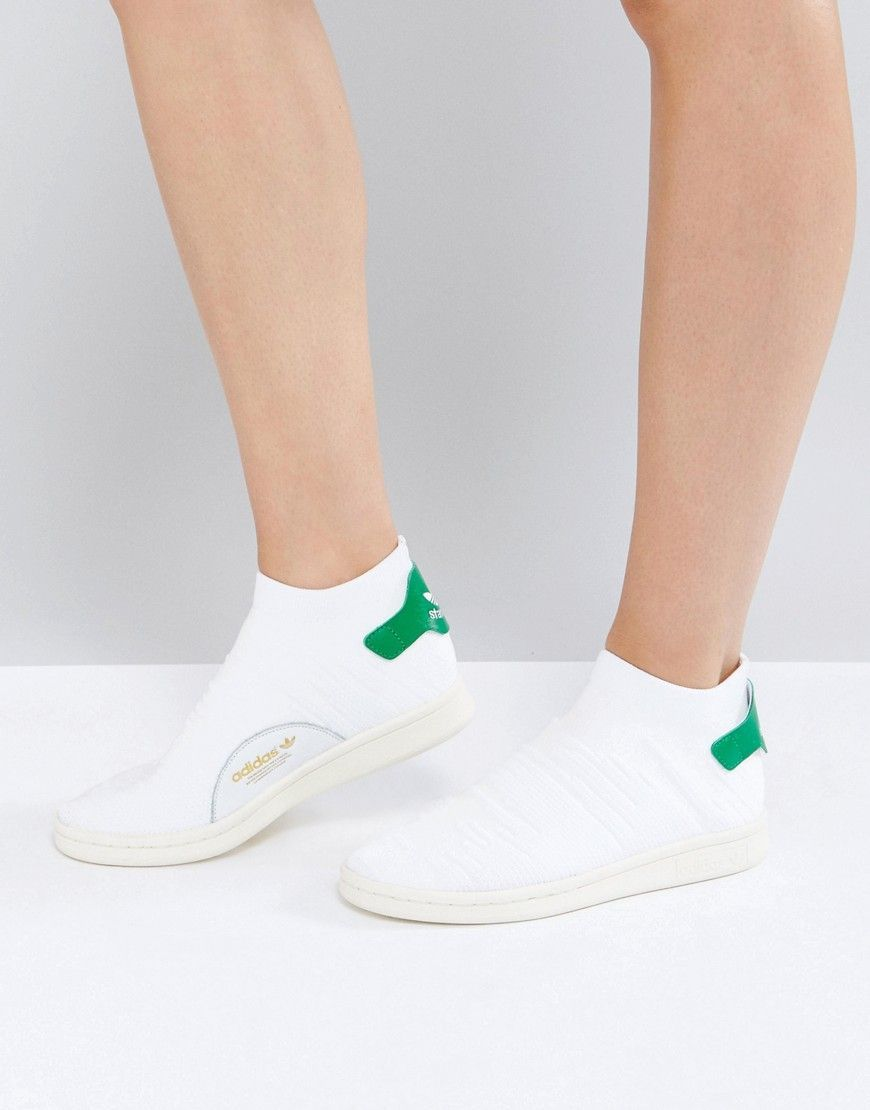 adidas originals stan smith primeknit sock sneakers
