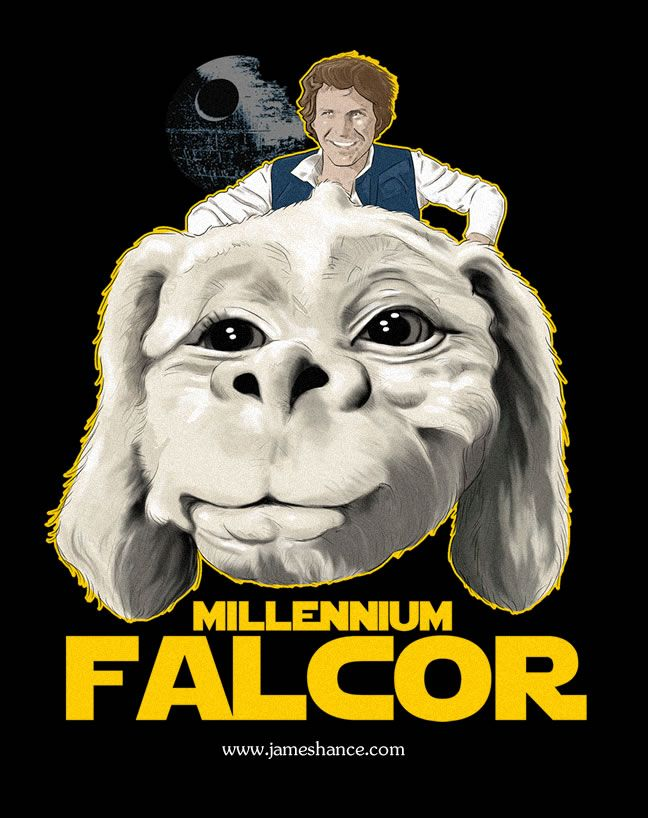 The Millennium Falcor Star Wars The Neverending Story