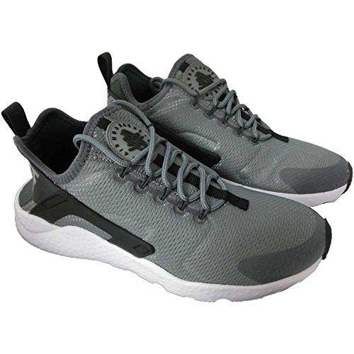 4b7317e96d6 Women s Nike Air Huarache Ultra Lifestyle Shoe 819151-007 Cool Grey Black White Anthracite  (8.5)