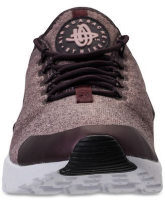 Nike Women's Air Huarache Run Ultra Se Running Sneakers from Finish Line -  Red 10