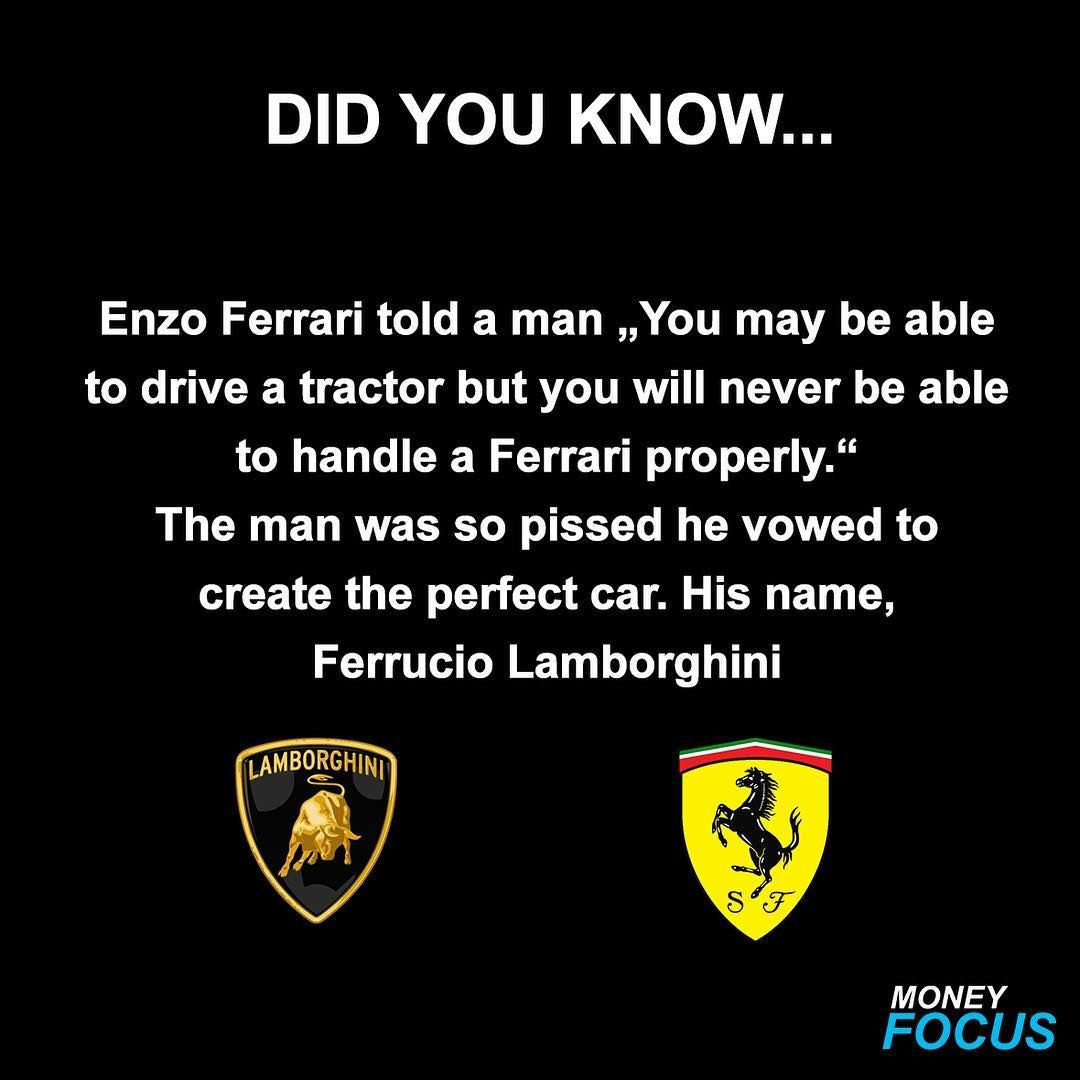 Money Focus On Instagram Lamborghini Or Ferrari Money