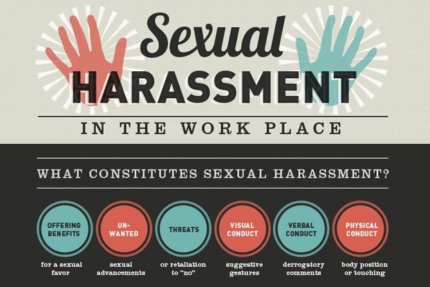 Harassment place sexual work