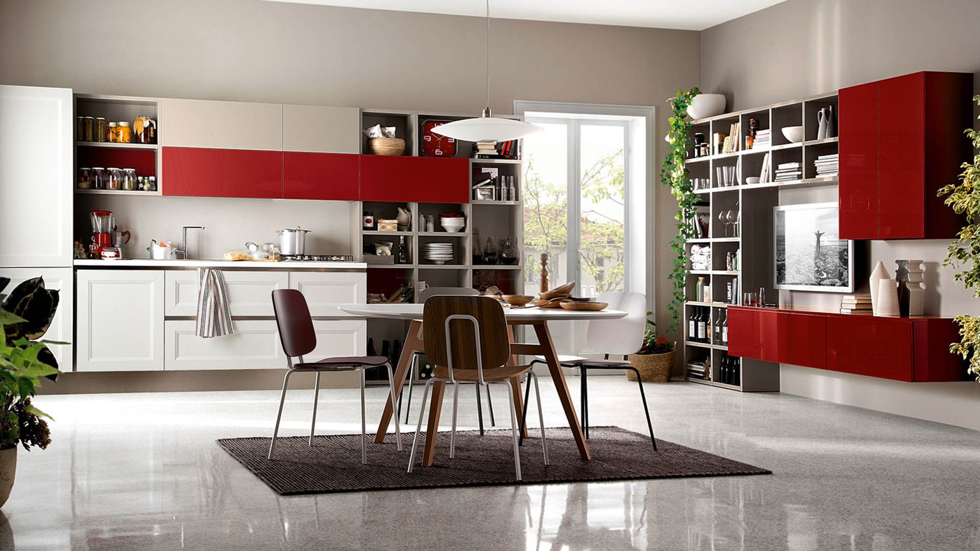 Arredamento Casa Roma tablet.go - cucine moderne - veneta cucine | cucine bianche
