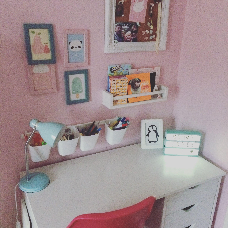 bedrooms on decorating girls colorful marvelous modern desk desks design teenage bedroom room for rooms ideas