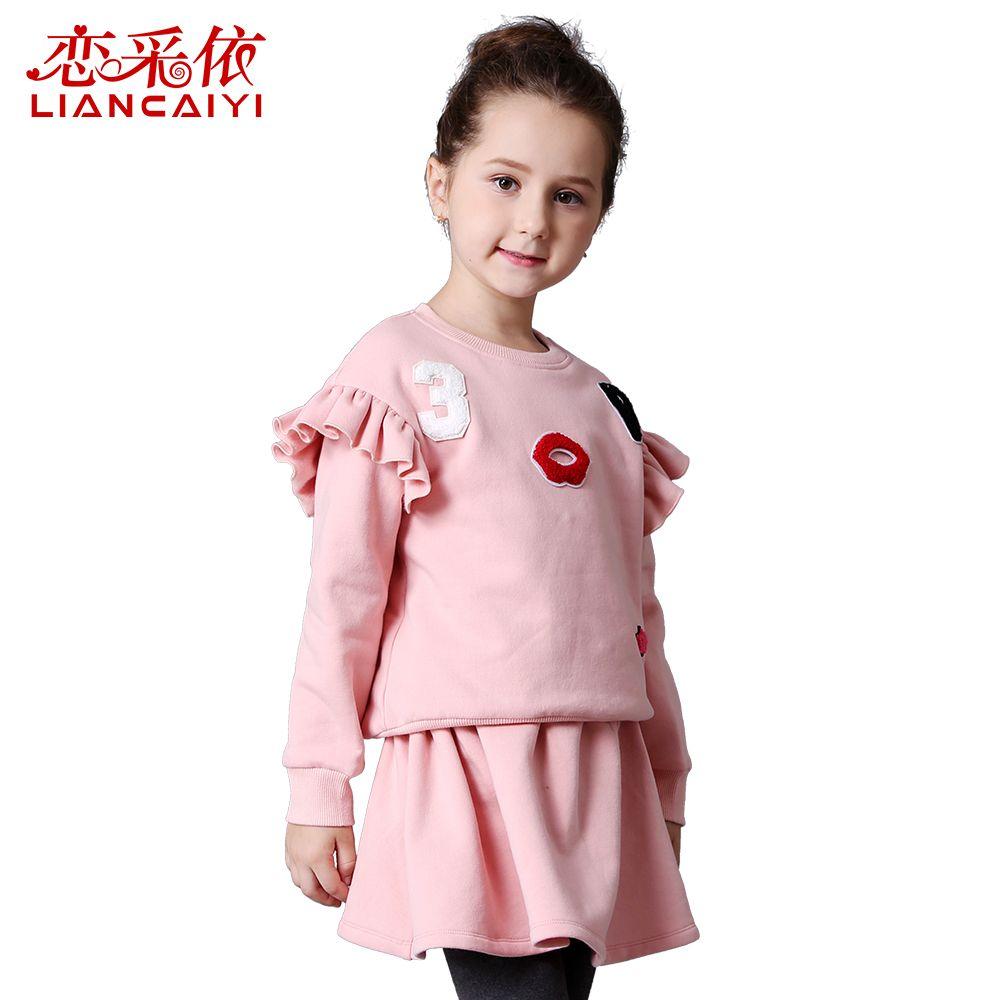 Liancaiyi Girls Dresses Spring 2017 Brand Children Dress Princess ...