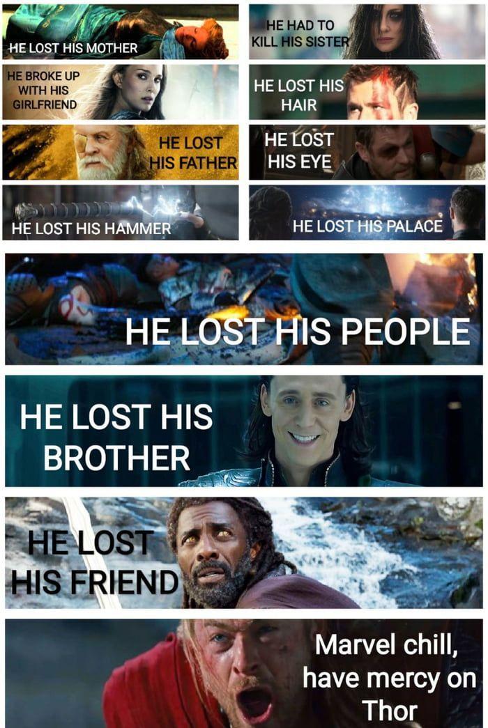 Plz marvel, have mercy on him #marveluniverse