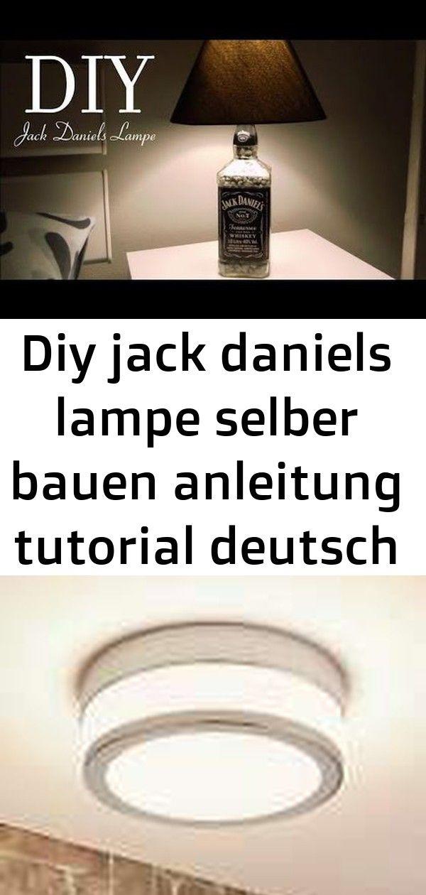 Diy Jack Daniels Lampe Selber Bauen Anleitung Tutorial Deutsch Youtube 5 Jack Daniels Lamp Diy Lamp Lamp