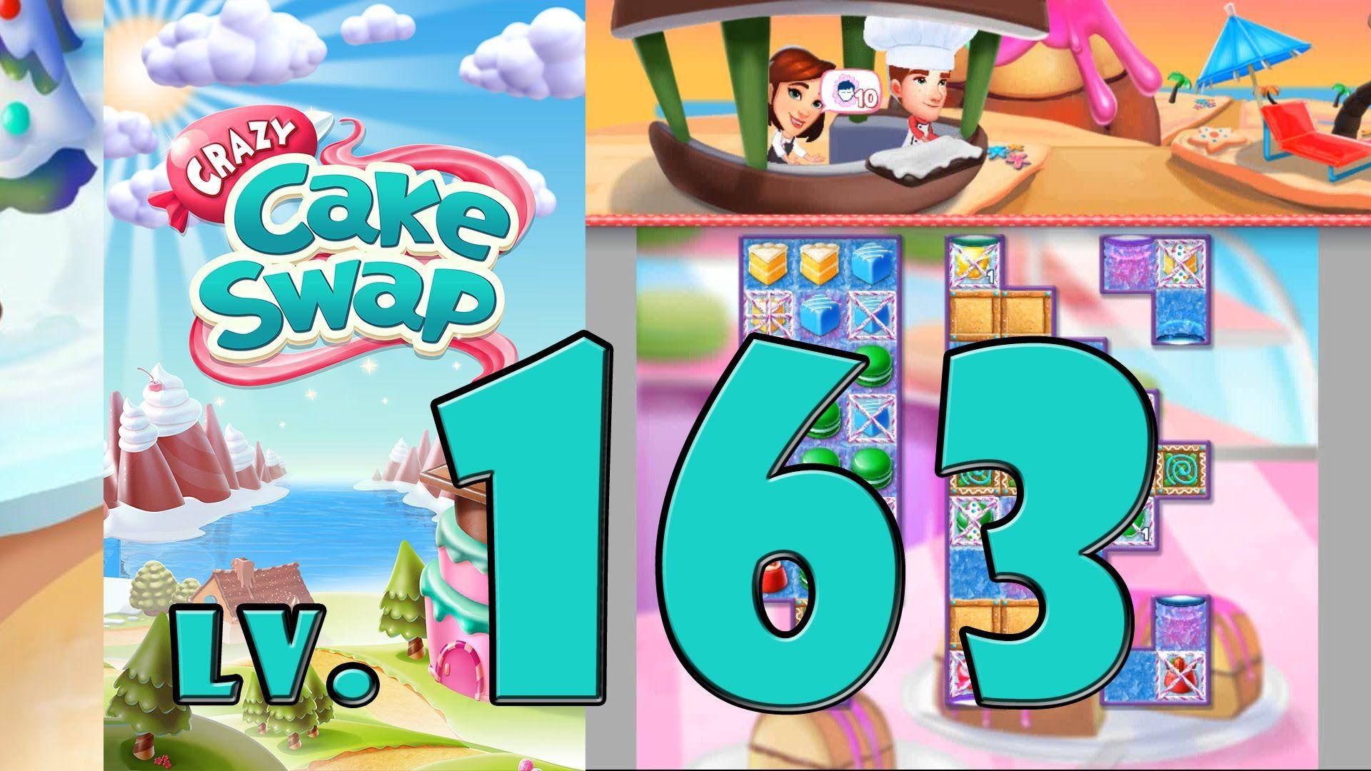 Crazy Cake Swap Level 163 1080 60fps