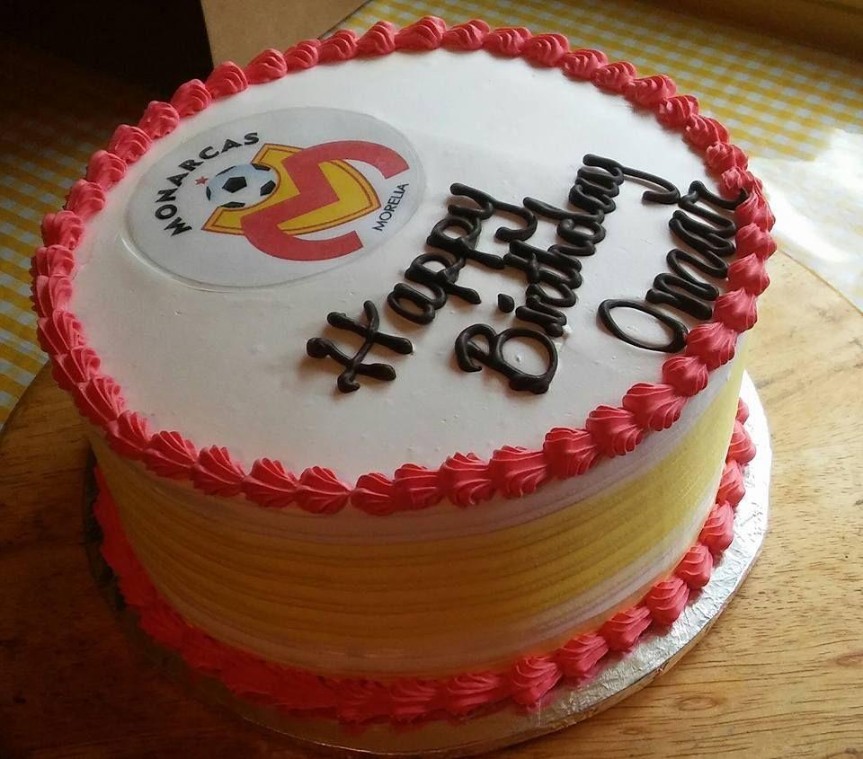 Monarcas Morelia Soccer Cake Cake Fruit Cake Homemade Fathers