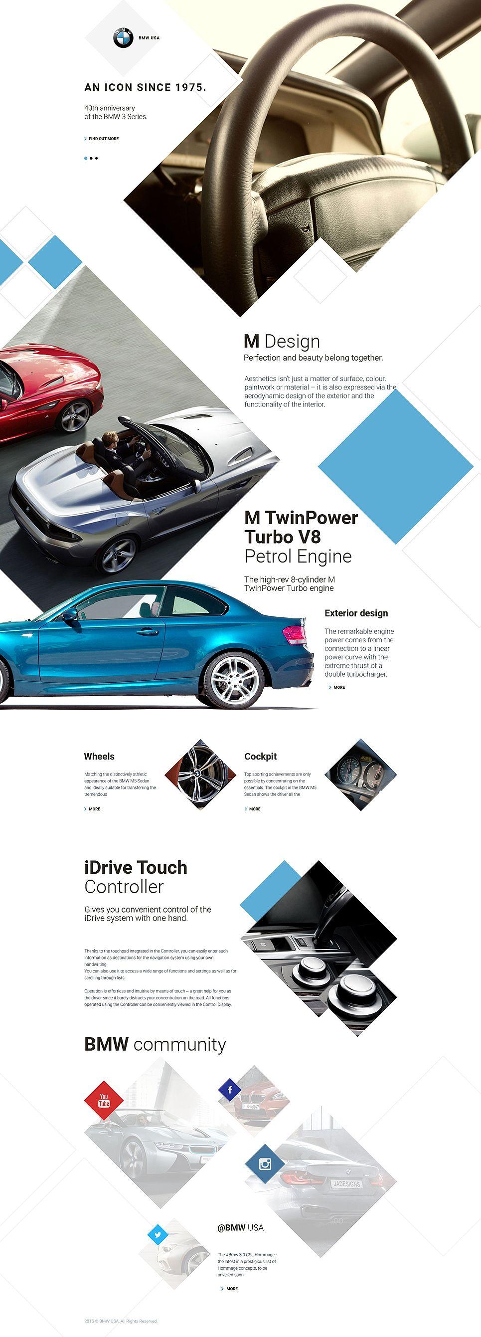 Car Responsive Landing Page Template   Publicidad en autos, Pagina ...