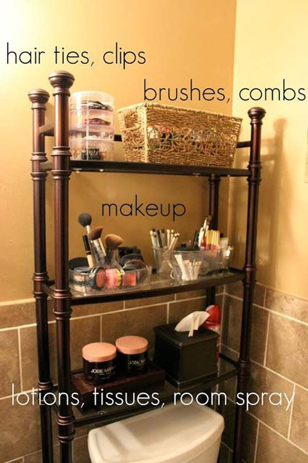 Best 25 Makeup Storage In Bathroom Ideas On Pinterest