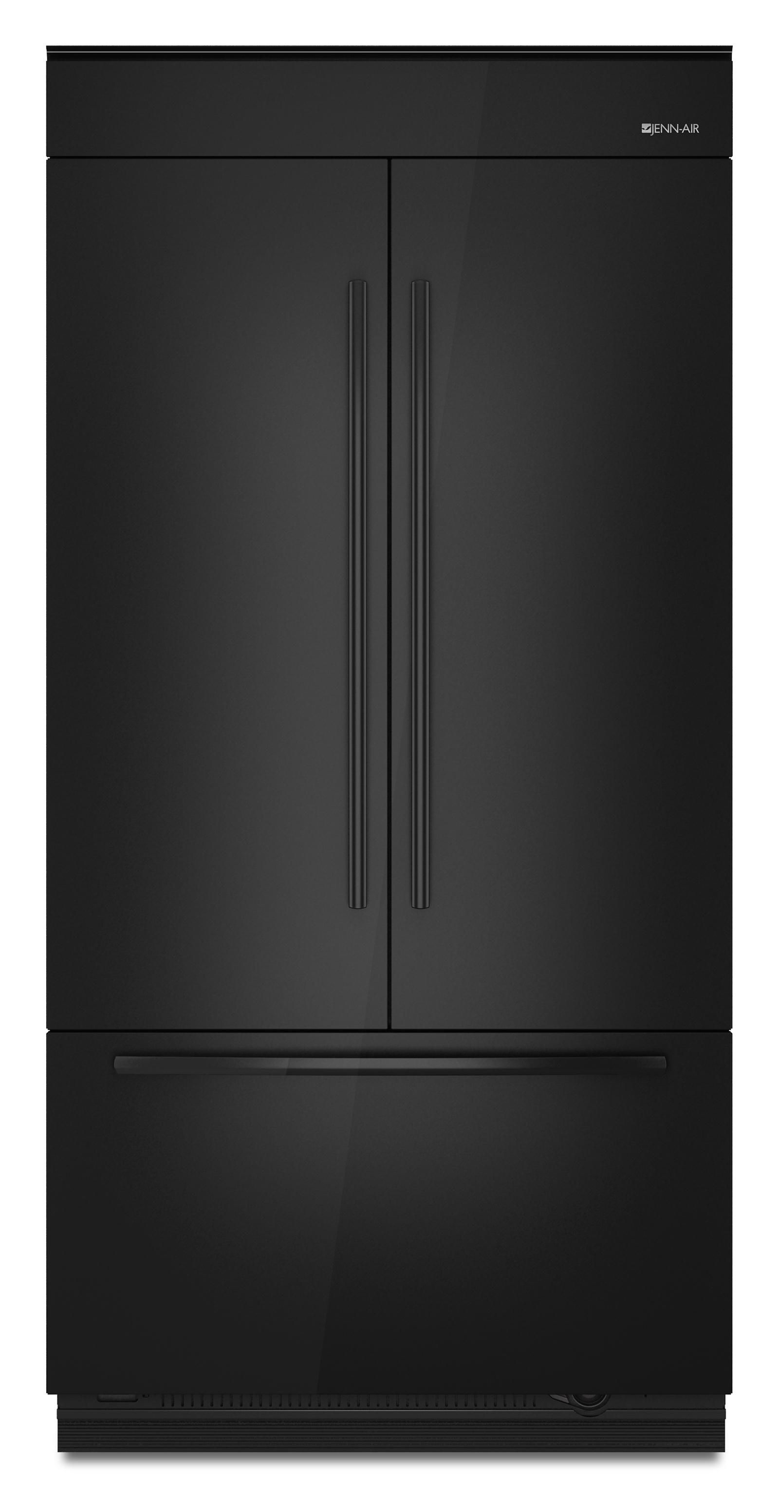 jenn air42 fully integrated built in french door refrigerator