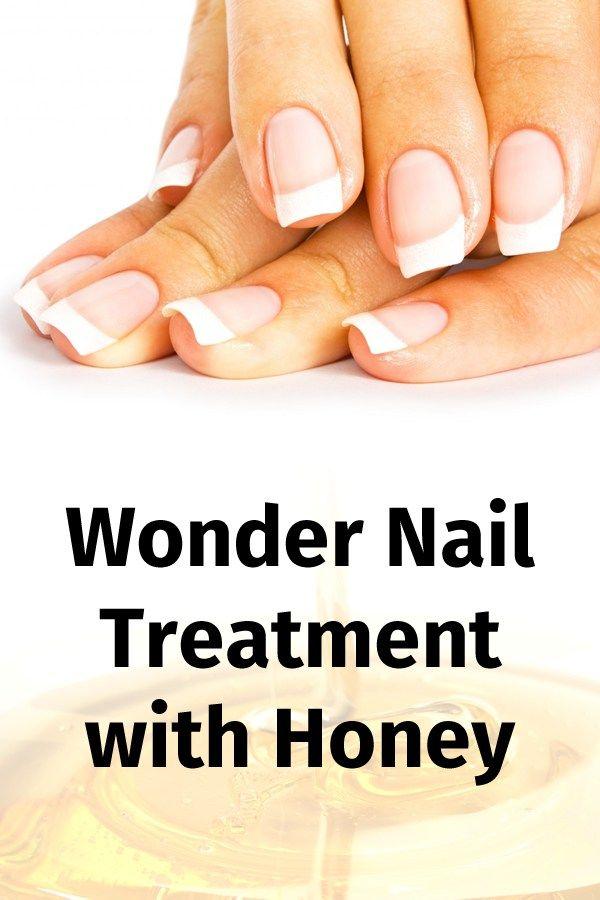 Wonder Nail Treatment with Honey
