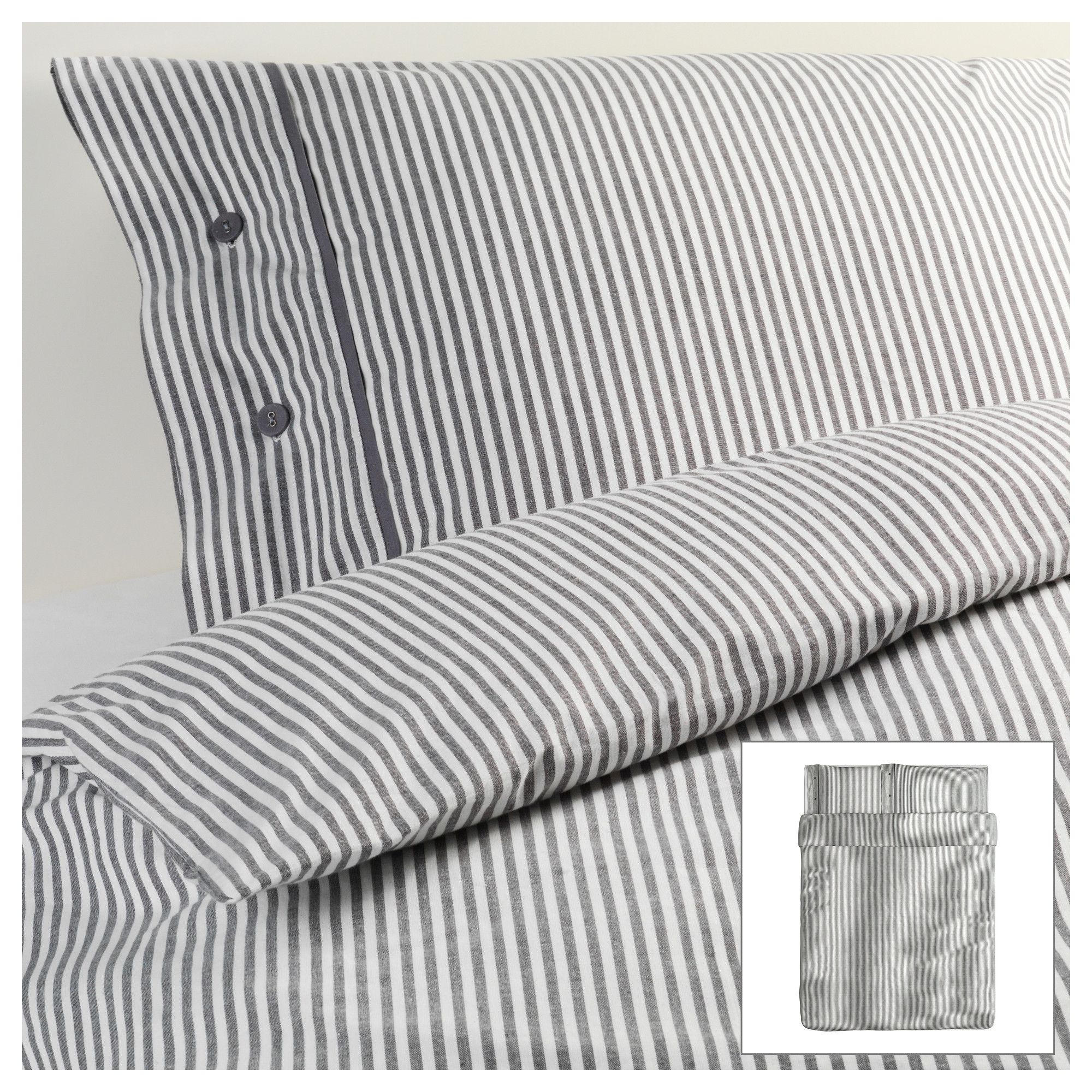 Nyponros Duvet Cover And Pillowcase S Full Queen Double Ikea