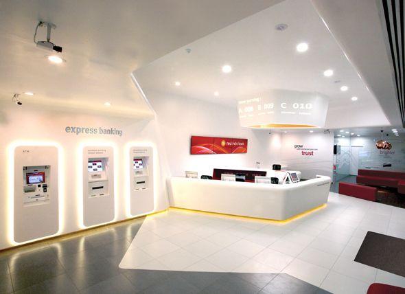 Retail Bank Bank Interior Design Bank Design Retail Space Design