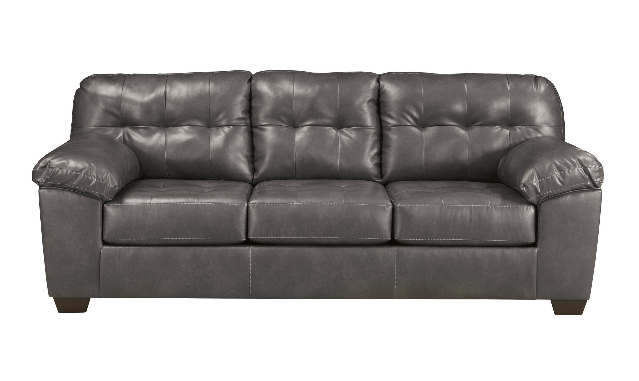 Signature Design By Ashley Alliston Gray Queen Sleeper Sofa Reviews Goedekers Com Leather Sofa Sofa Sofa Deals