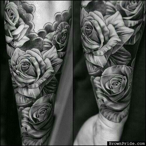 Rosas Antebrazo Rosa Tatuajes De La Manga Tatuajes De Rosas Para Hombres Tatuajes Chiquitos