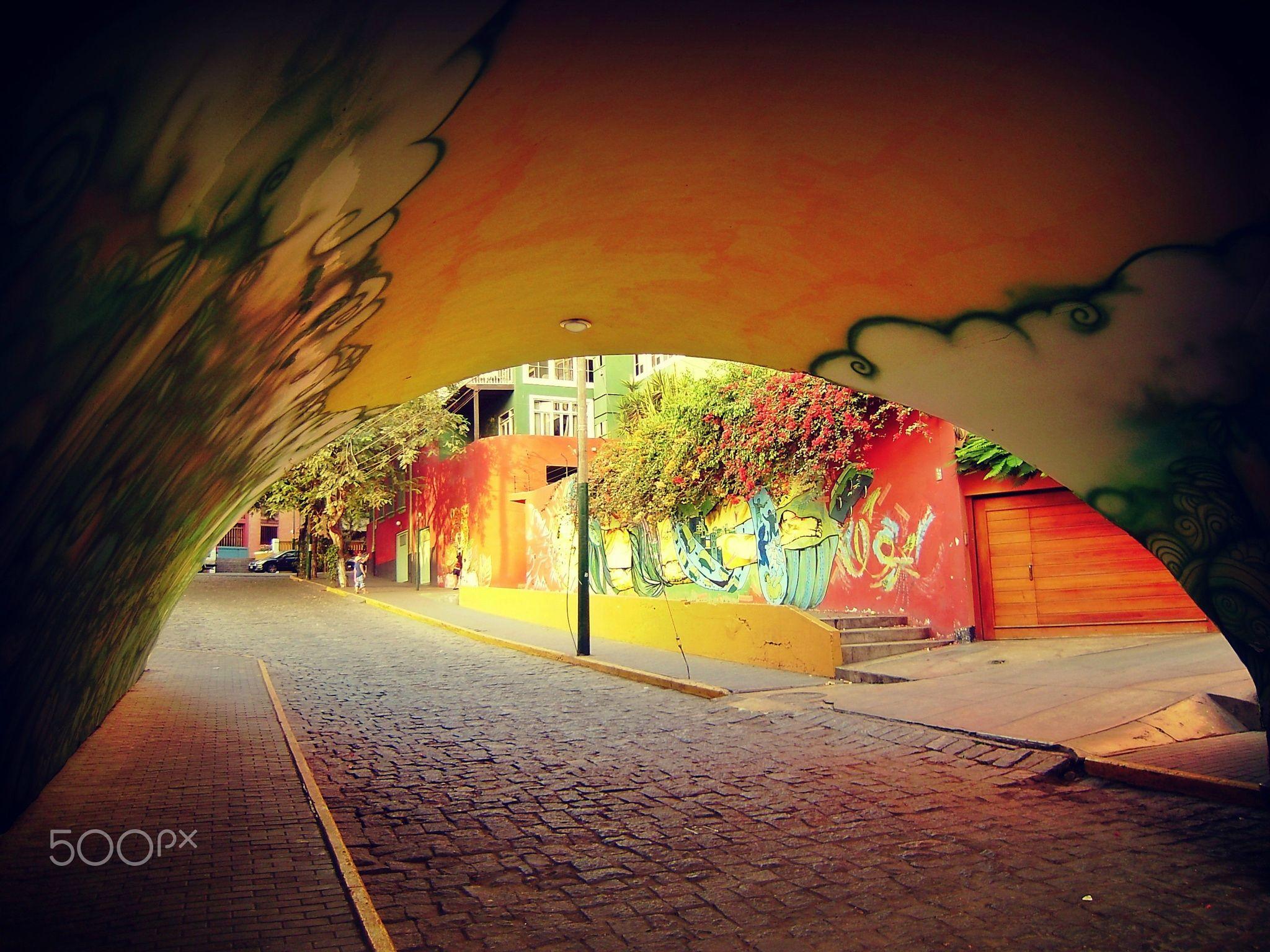 Tunel de Colores - null
