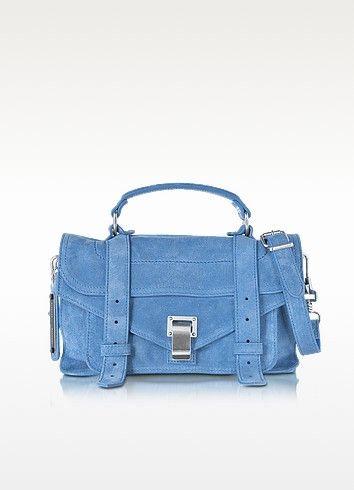 Suède Ps1 Petit - Bleu Proenza Schouler hsYjArsD0Z