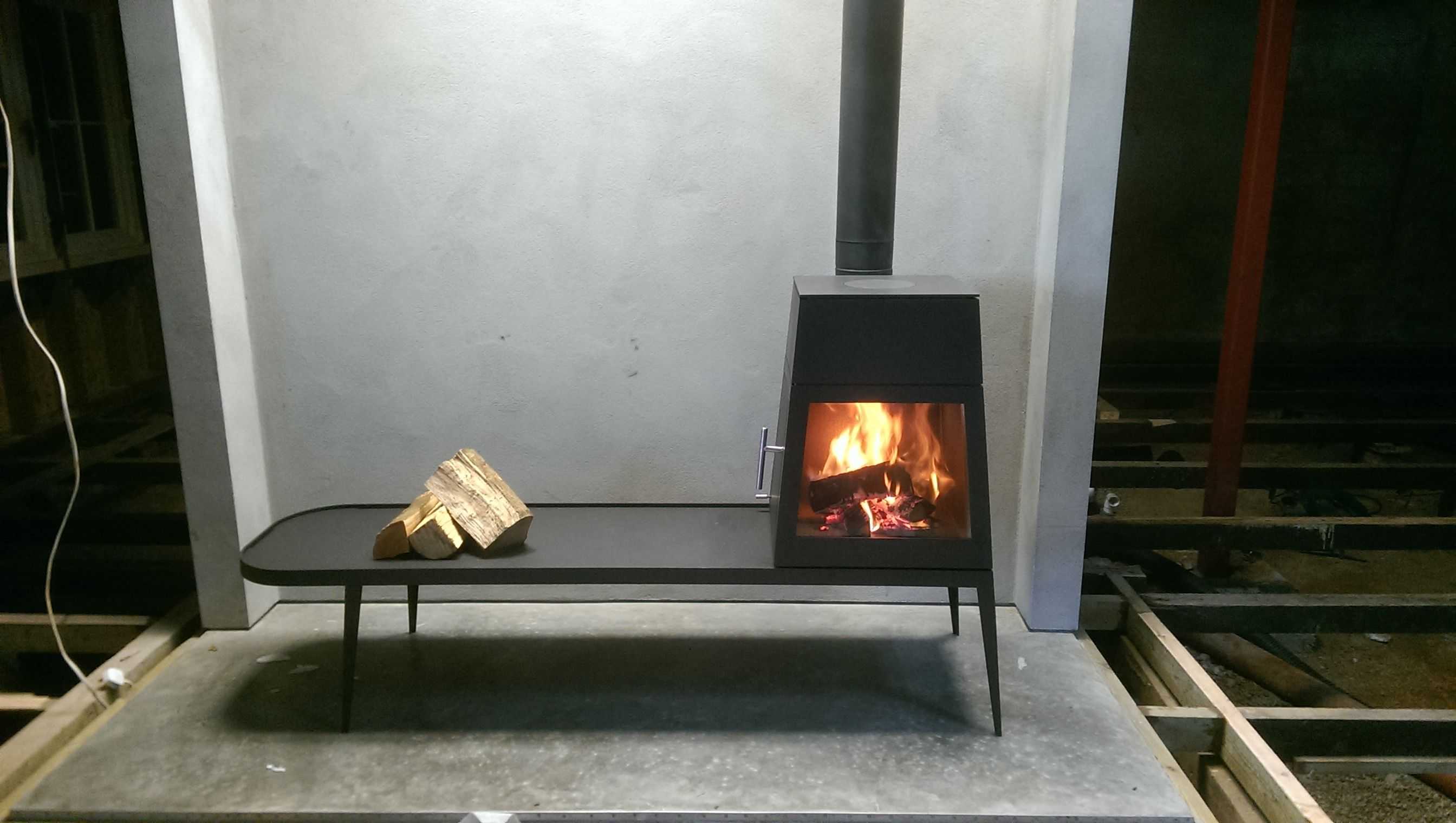 Skantherm Shaker Long Wood stove. - Wendron Stoves. We love the ...