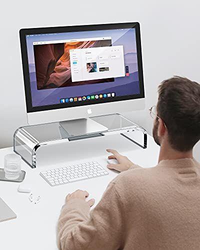 Premium Acrylic Monitor Stand