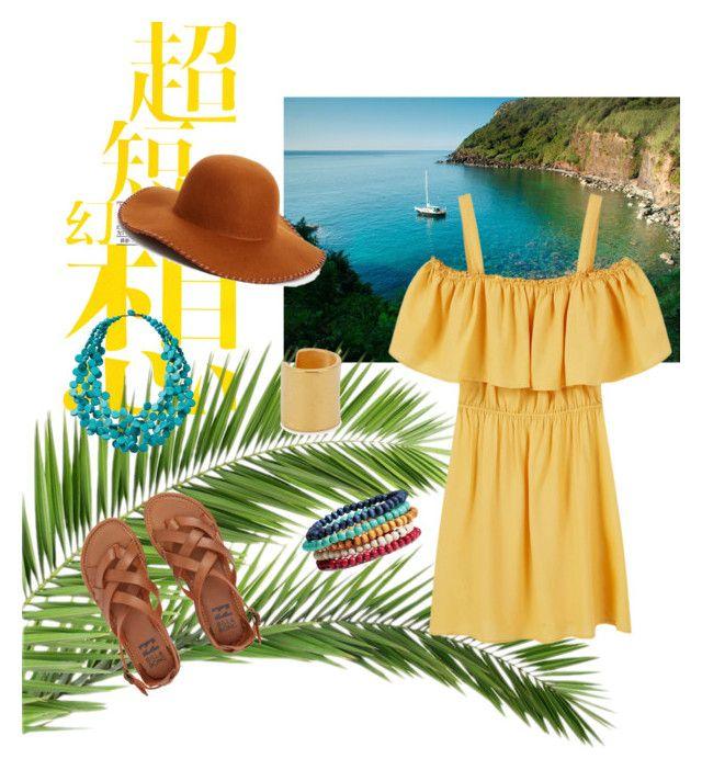 """Tropical Getaway"" by aejones6324 on Polyvore featuring Billabong, Maya Magal, Phase 3, MANGO and TravelSmith"
