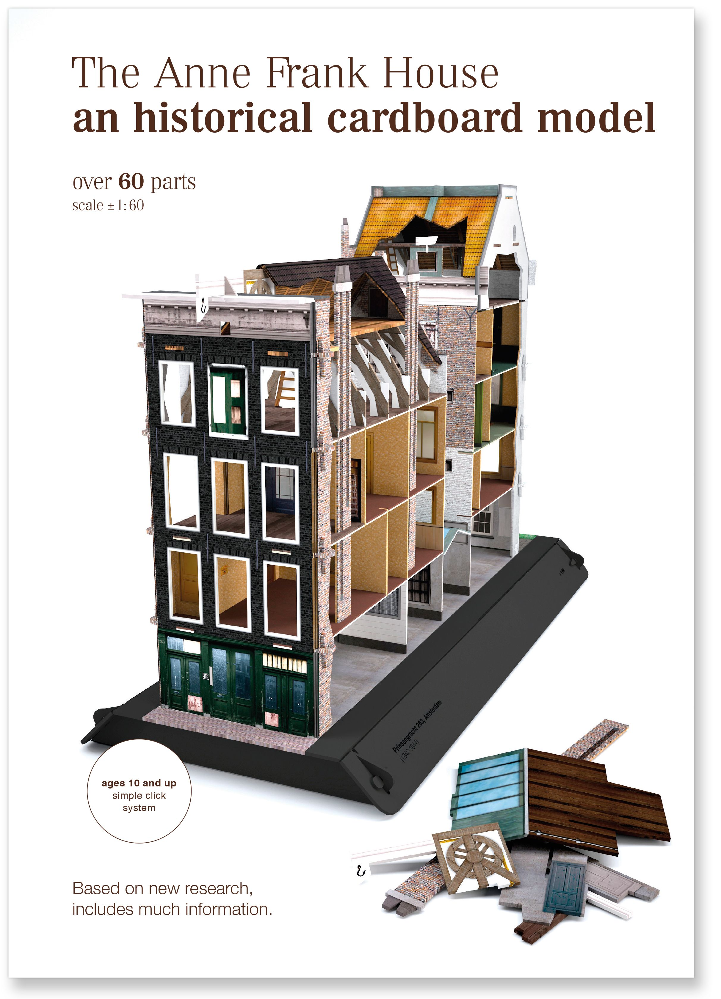 Historical Construction Kit Of The Anne Frank House (English)