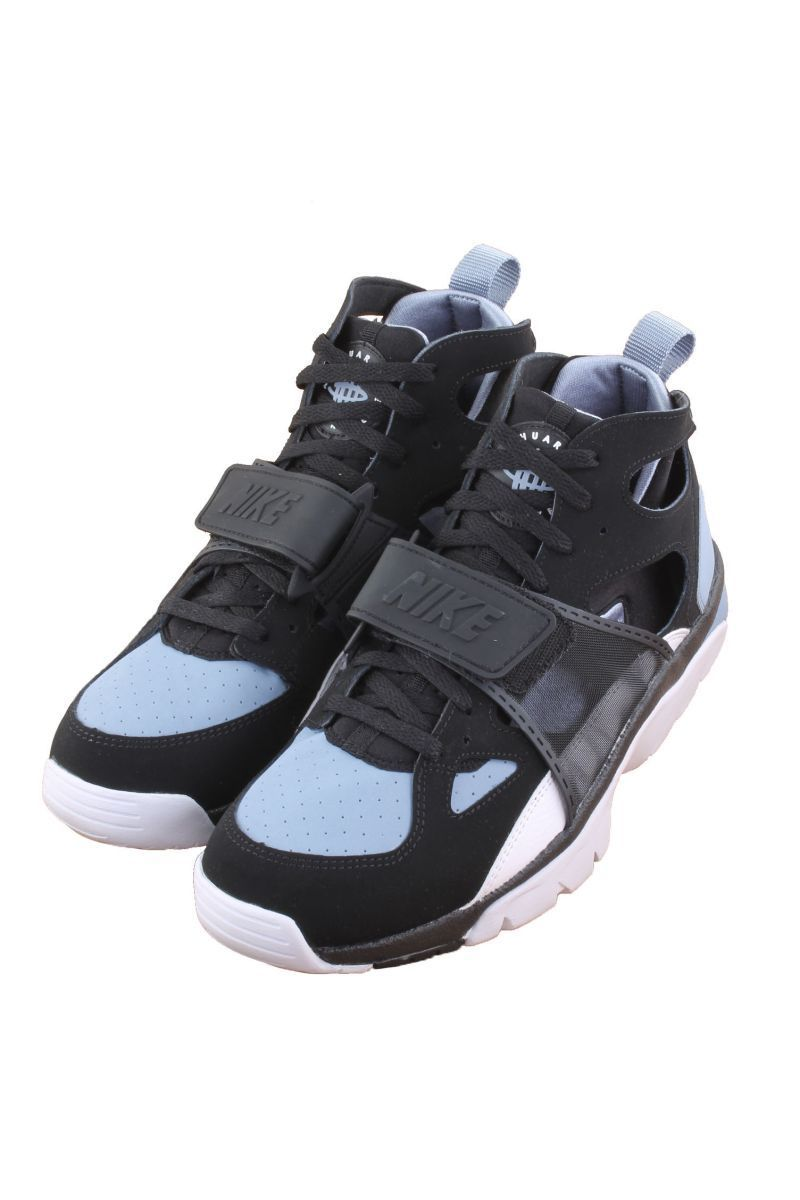d67b064cb60d ... canada air trainer huarache black cool blue white 679083 016 men nike  ebay 60b35 d0546
