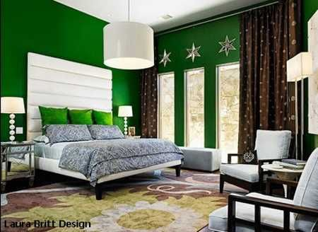 Bedroom Colors Green 25 Bold Designs Created With Bright B