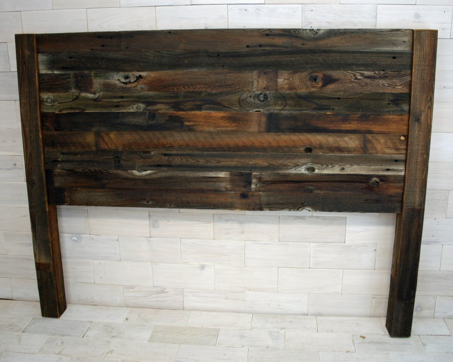 The Sylvan Queen Headboard made from Barn Wood by LunarCanyon