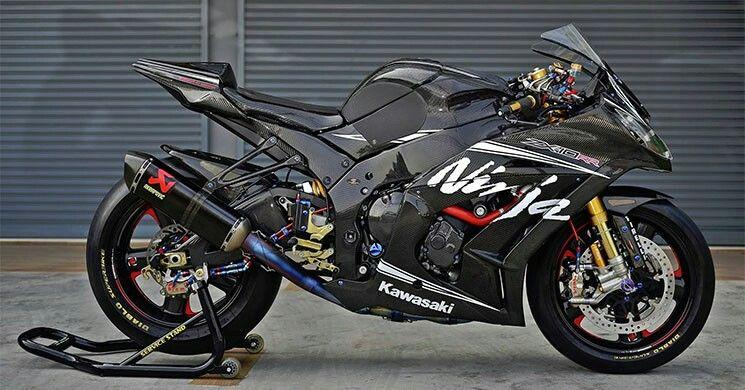 Kawasaki Ninja ZX10R Full Carbon | Motorcycles | Kawasaki bikes