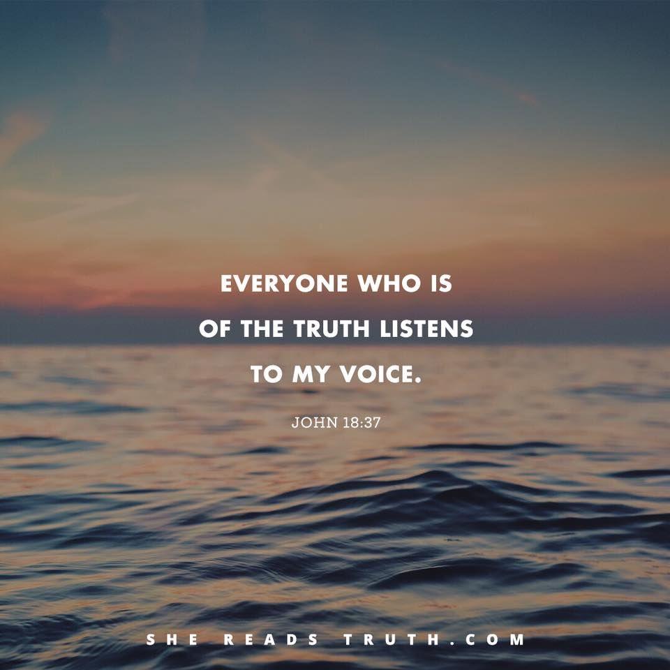 John 18:37