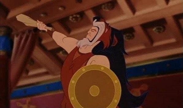 Look Closer In Hercules The Rug That Hercules Wears Is Actually The Body Of Scar Hercules Funny Pictures Disney Movies
