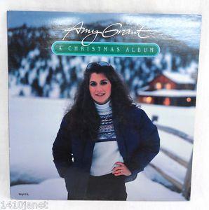 amy grant a christmas album vinyl lp record 1983 word records vintage ebay