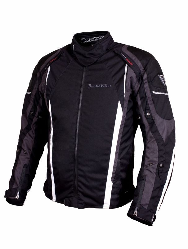 Blackwild Arkansas Herren motorradjacke,Schwarz, UVP 189€,Gr. M, L ...