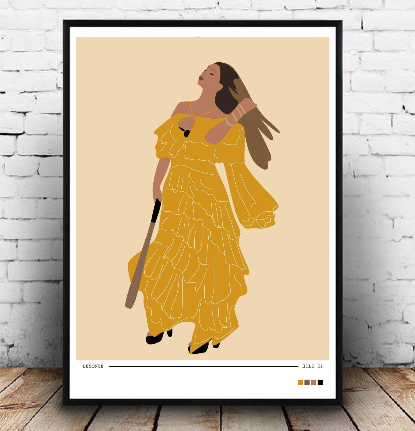 Beyonce sassy hold up wall decor, Beyonce boy bye sass wall art ...