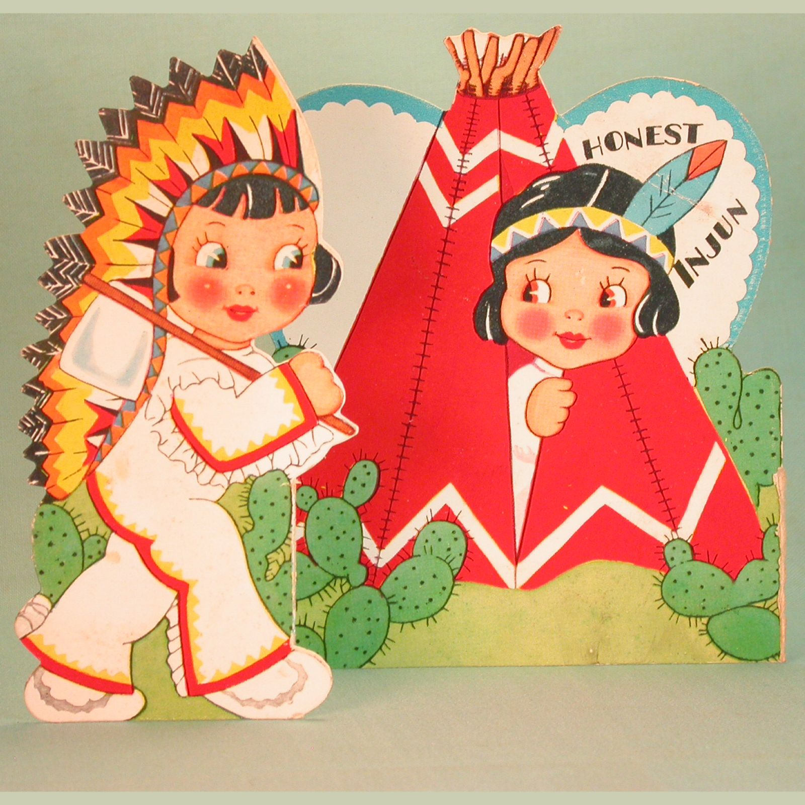 Vintage valentine museum native americanamerican indian themed vintage valentine museum native americanamerican indian themed cultural appropriation cracker kristyandbryce Choice Image