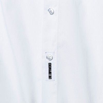 ee404b4b0 Women's Plus Size Long Sleeve Button-Down Shirt - A New Day? Vital Voices -  White X #Sleeve, #Button, #Long