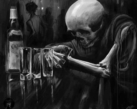 Image result for drinking to death