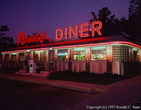 Check out brigette 39 s review of jay asher 39 s thirteen for 50 s diner exterior