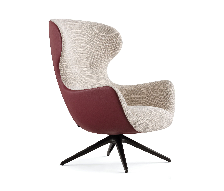 Egg Chair Bruin Leer.Mad Jocker By Poliform Lounge Chairs Armchair Design Lounge