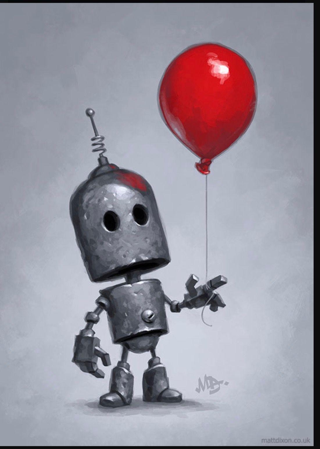 Pin De Mike Hunt En Matt Dixon Robots Ilustración De Robot Arte Robot Robots Dibujo