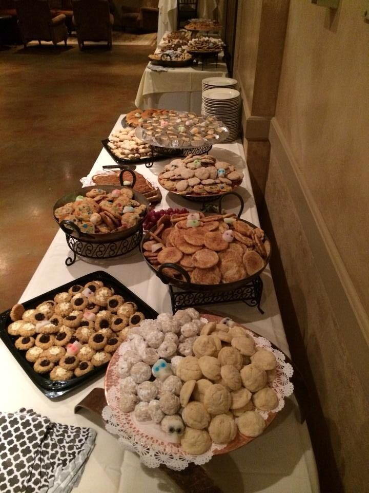Pittsburgh Wedding Cookie Table Reception Dessert Table Cookie Table Pittsburgh Wedding Cookie Table