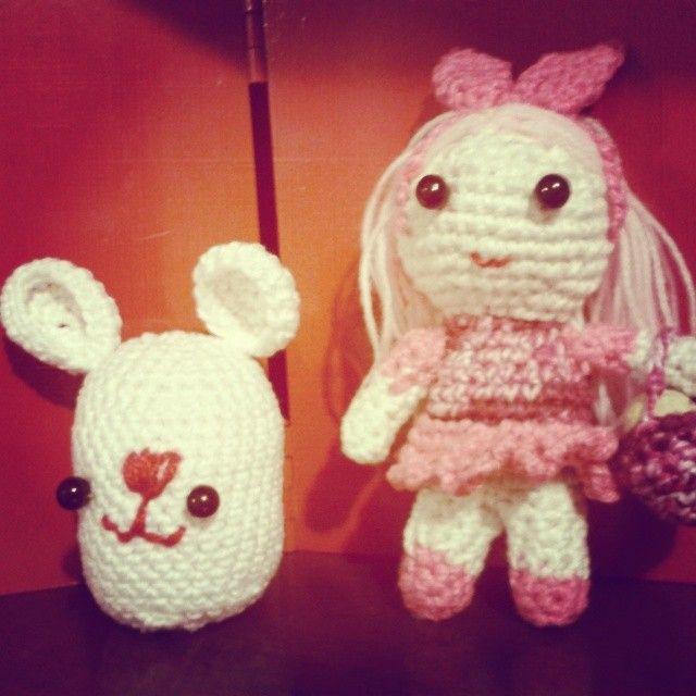 Coelhinhos para Lily e Lolô.