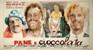 Bread and Chocolate/Pane e cioccolata (1974) Nino Manfredi. Un film di  Franco Brusati: http://amzn.to/2a7zRhJ | Film, Artwork, Cinema
