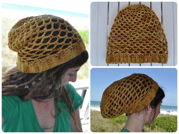Simple Mesh Lace Hat Crochet Pattern Pdf Httpsetsy